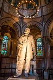 James A. Garfield Memorial Statue. A 12 foot marble statue of James A. Garfield, 20th president of the United States of America. The James A. Garfield Memorial stock photos