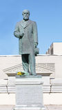 James A. Garfield statue Stock Image
