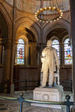James A. Garfield statue in his Memorial Royalty Free Stock Images