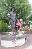 James Garner Statue foto de stock