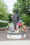 James Garner Statue fotografia de stock