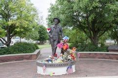 James Garner Statue imagens de stock