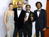 James Gay-Rees, Asif Kapadia, Dev Patel and Daisy Ridley Royalty Free Stock Photos