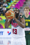 James Harden of USA Stock Images