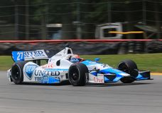James Hinchcliffe Pro car driver Royalty Free Stock Photos