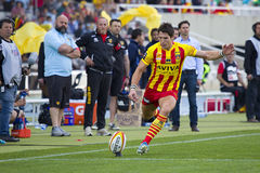 James Hook of USAP in action Royalty Free Stock Images