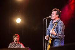 James Hunter Holland International Bluesfestival stock foto's
