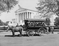 James J. Grace, sightseeing guide in Washington D.c. since 1897, circa 1942 Royalty Free Stock Images