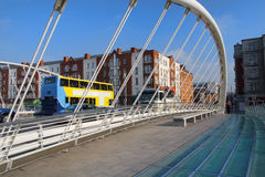 James Joyce Bridge Stock Photography