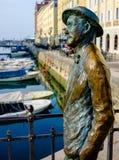 James Joyce i Trieste Fotografering för Bildbyråer