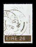 James Joyce 1882-1941, serie, circa 1982 Arkivbild