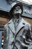 James Joyce statue in Dunlin, Ireland Stock Photos