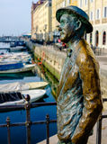 James Joyce a Trieste immagine stock