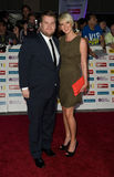 James and Julia Corden Royalty Free Stock Images