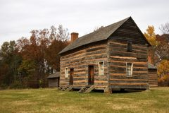 James K Polk Birthplace. United States President 1845 - 1849 Pineville, NC royalty free stock photo