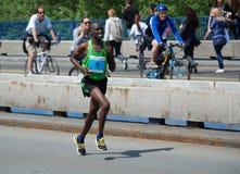 James Kiptum Barmasai, Belgrade maratonu zwycięzca Zdjęcie Stock