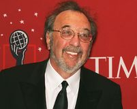James L. Brooks. Accomplished filmmaker James L. Brooks arrives on the red carpet inside the Time Warner Center in Manhattan for the Time 100 Most Influential Royalty Free Stock Photo