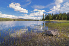 James Lake Lizenzfreie Stockfotografie