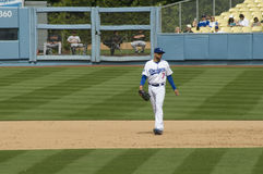 James Loney. Los angeles dodgers' infielder James Loney on a field Stock Images