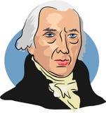 James Madison. American president James Madison 1809-17 Royalty Free Stock Images
