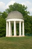 James Madison's Montpelier mansion. And  Gazebo in  Montpelier Station VA, Orange County Stock Images