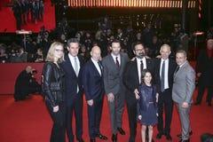 James Mangold, Hugh Jackman, Dafne Zapalony, Patrick Stewart Fotografia Stock