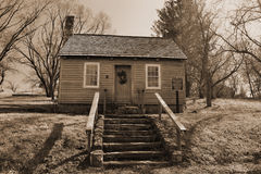 James Matten Early Cabin, Fincastle, Virginia, USA Royalty Free Stock Photos