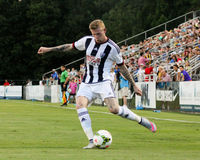 James McClean, West Bromwich Albion Foto de Stock Royalty Free