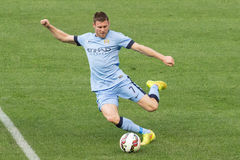 James Milner Arkivbilder