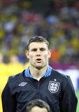 James Milner of England Stock Images