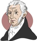 James Monroe Royalty Free Stock Image