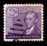 James Monroe 1758-1831, 5th prezydent U S obraz stock
