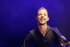James Morrison Performing Live Stock Foto