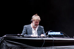 James Murphy performs as DJ at Santander Music Festival Stock Photo