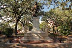 James Oglethorpe Monument image libre de droits