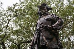James Oglethorpe statua obraz royalty free