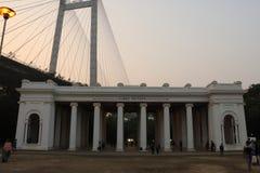 James Princep Ghat, Kolkata, Ινδία στοκ εικόνα