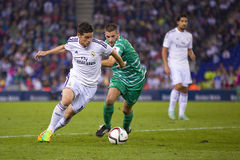 James of Real Madrid Stock Images
