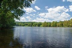James River – Buckingham County, Virginia, USA Stock Photography