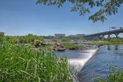 James River Fotografia Stock
