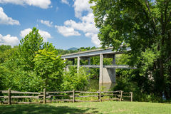 James River Bridge and Walkway – Blue Ridge Parkway Stock Photo