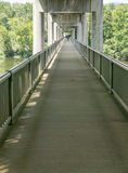 James River Bridge Walkway – Blue Ridge Parkway, Virginia, USA. Stock Photos