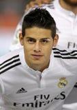 James Rodriguez av Real Madrid Arkivbilder