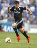 James Rodriguez av Real Madrid Arkivfoto