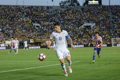 James Rodriguez podczas Copa Ameryka Centenario Obraz Royalty Free