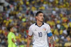 James Rodriguez podczas Copa Ameryka Centenario Zdjęcie Stock