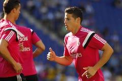 James Rodriguez Real Madrid fotografia royalty free
