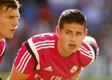 James Rodriguez Real Madrid zdjęcia royalty free