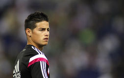 James Rodriguez of Real Madrid Royalty Free Stock Image