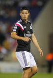 James Rodriguez of Real Madrid Stock Images